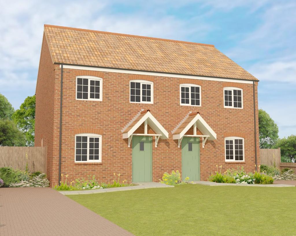3 Bedrooms Semi Detached House for sale in Blows Lane, Sutterton, Boston, PE20
