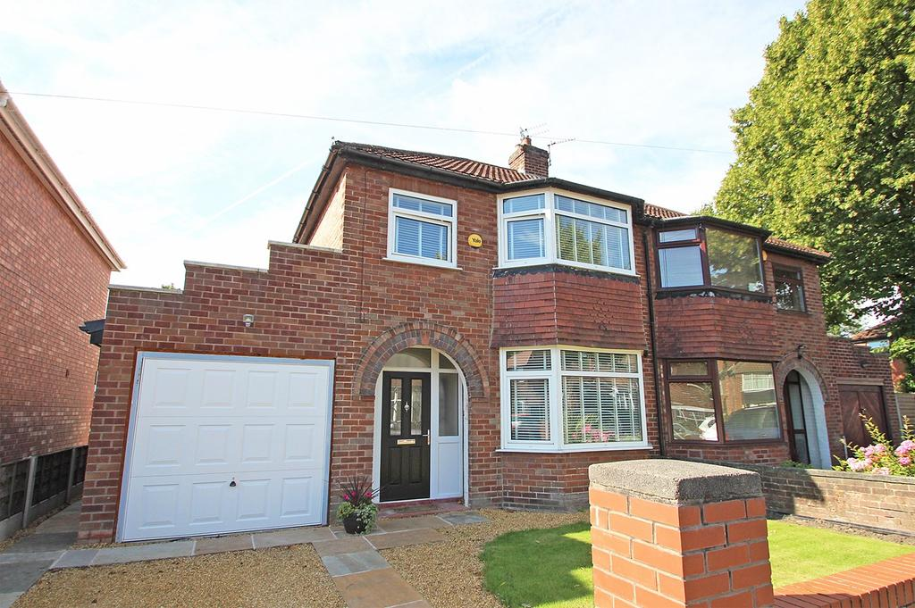 3 Bedrooms Semi Detached House for sale in Rock Road, Urmston, Manchester, M41