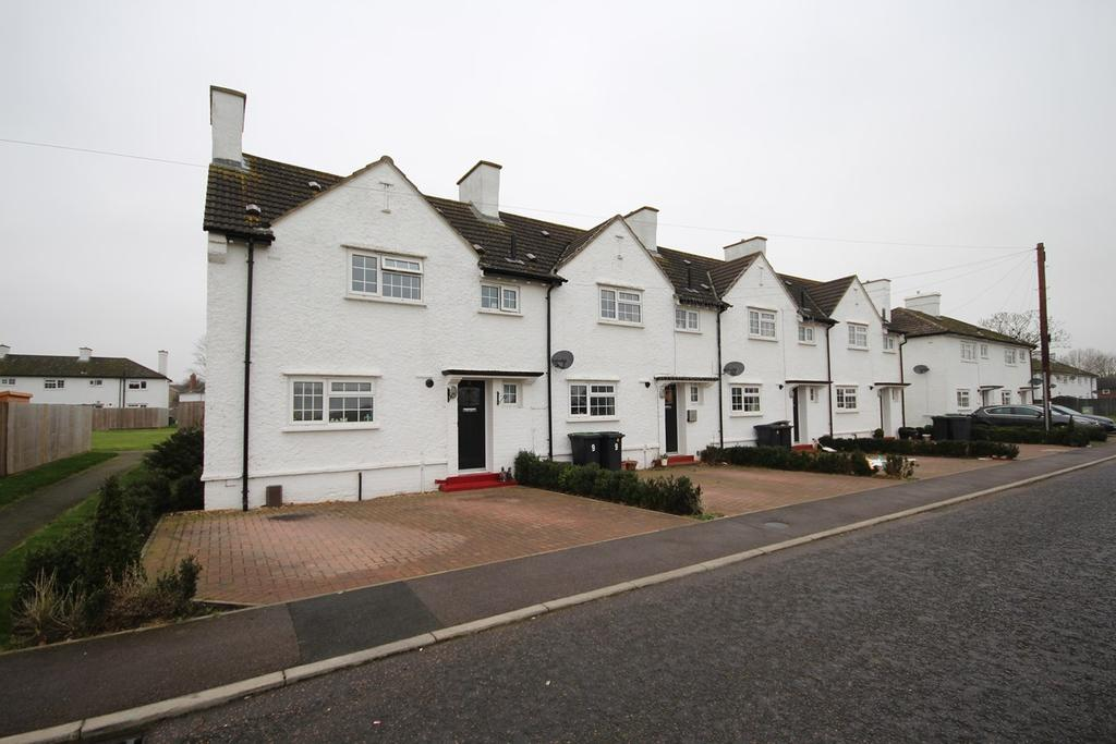 2 Bedrooms End Of Terrace House for sale in Derwent Road, Henlow, SG16