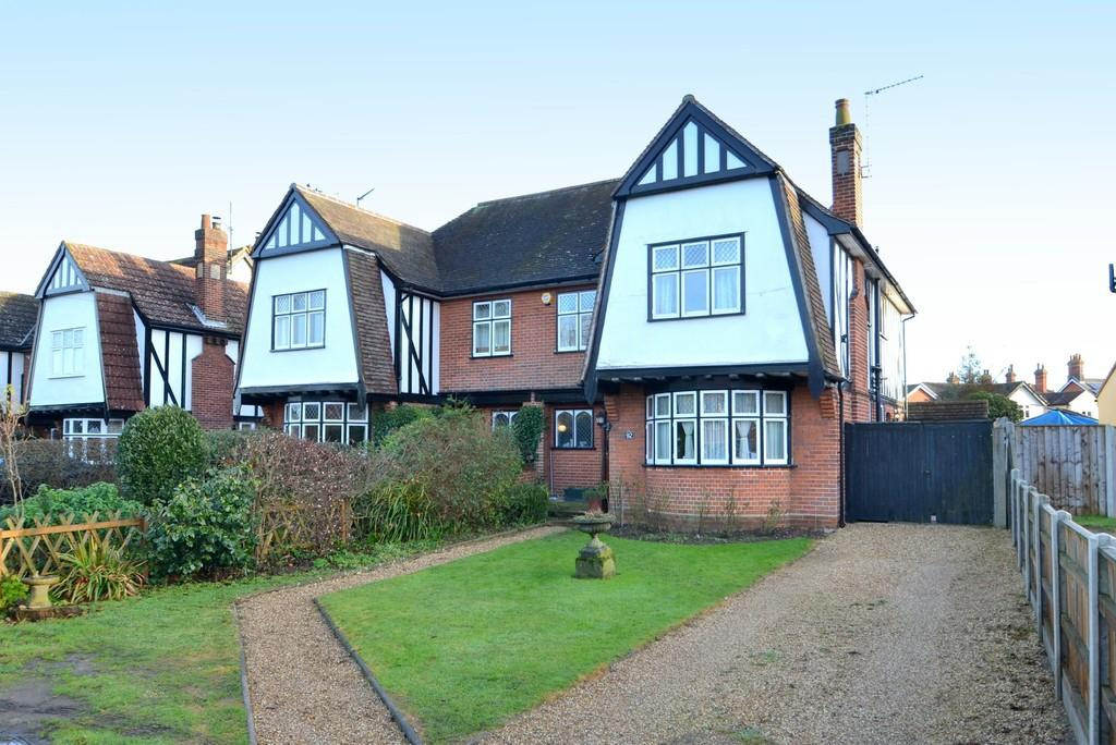 4 Bedrooms Semi Detached House for sale in Westerfield Road, Ipswich, IP4 2XN