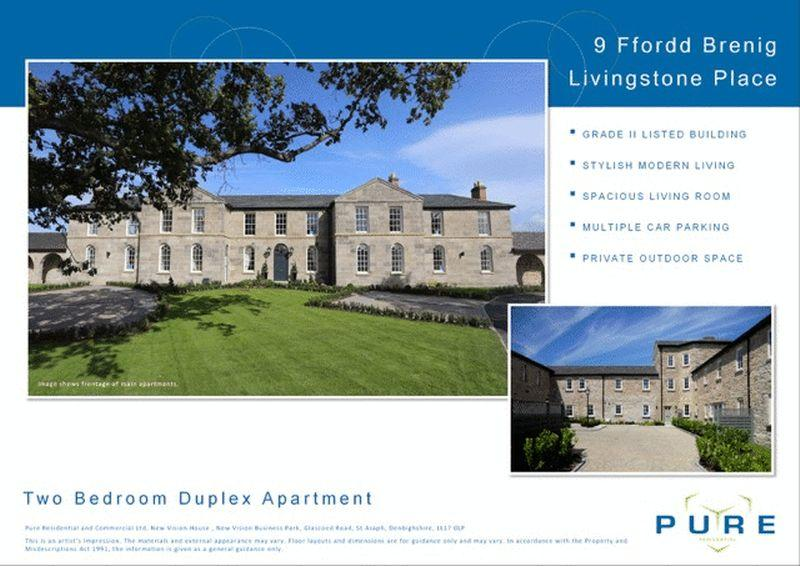 2 Bedrooms Apartment Flat for sale in LO6, Upper Denbigh Road, St. Asaph