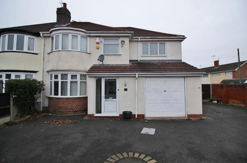 5 Bedrooms Semi Detached House for sale in Winchester Road, Fordhouses, Wolverhampton