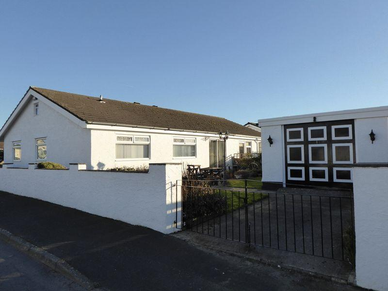 4 Bedrooms Semi Detached Bungalow for sale in Gaerwen