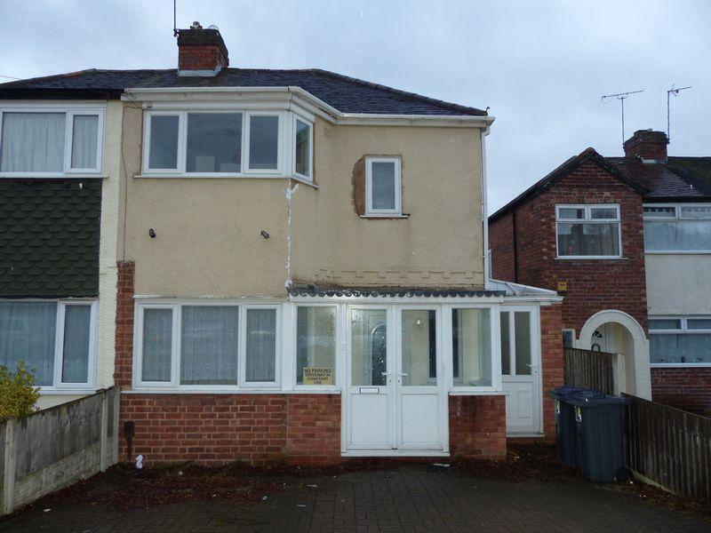 2 Bedrooms Semi Detached House for sale in Glendon Road, Erdington, Birmingham