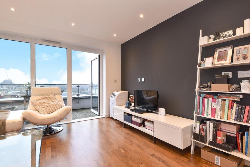 1 Bedroom Penthouse Flat for sale in Enterprise Way, Wandsworth