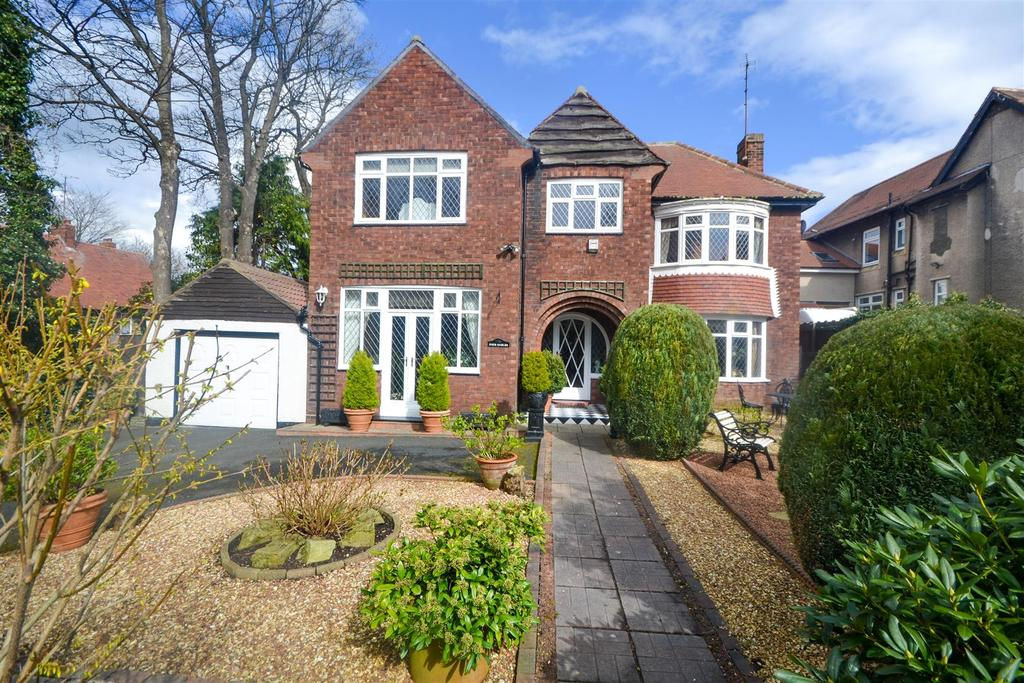 4 Bedrooms Detached House for sale in Queen Alexandra Road, Ashbrooke, Sunderland
