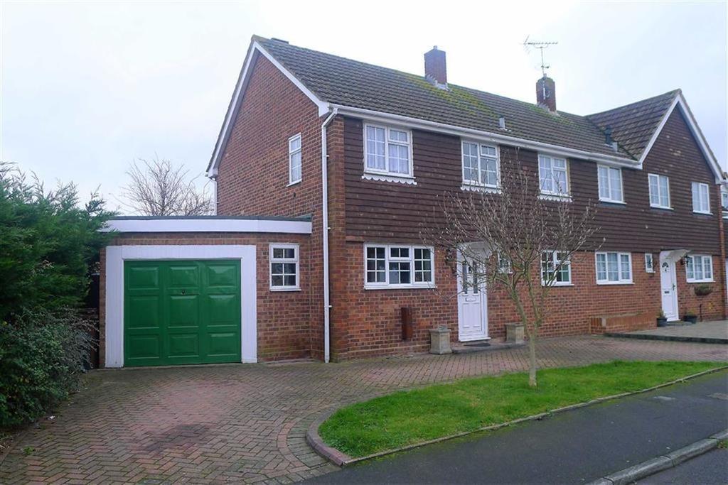 4 Bedrooms Semi Detached House for sale in Oastview, Rainham, Kent, ME8