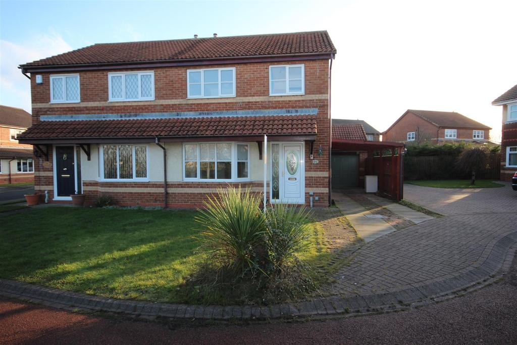 3 Bedrooms Semi Detached House for sale in John Howe Gardens, Hartlepool
