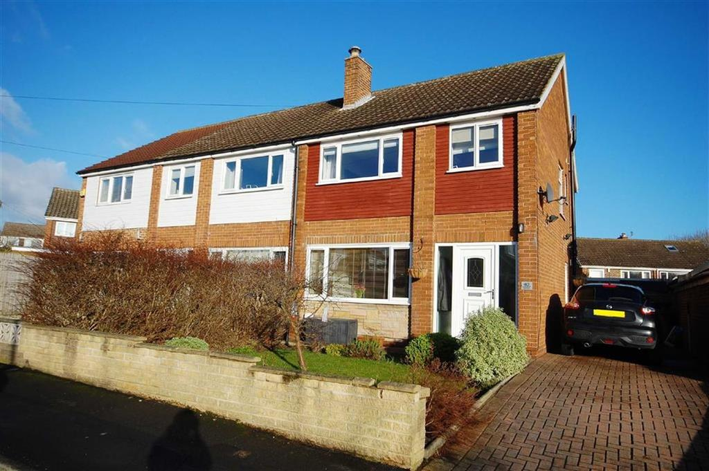 3 Bedrooms Semi Detached House for sale in Earlswood Crescent, Kippax, Leeds, LS25