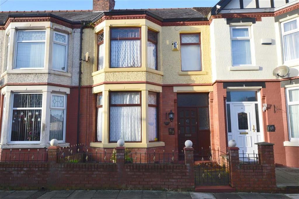 3 Bedrooms Terraced House for sale in Primrose Road, Claughton, CH41