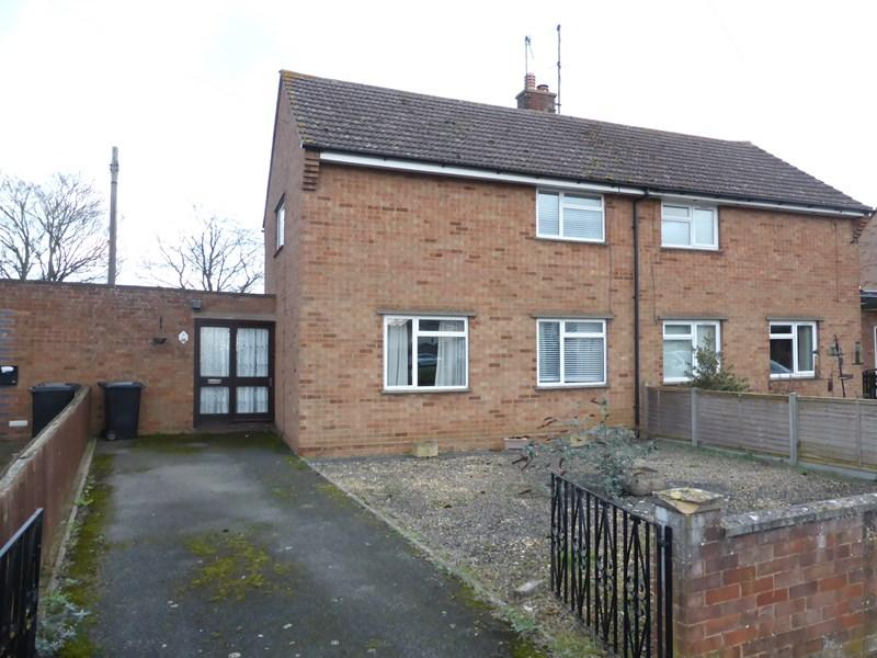 2 Bedrooms Semi Detached House for sale in Norval Crescent, Offenham, Evesham