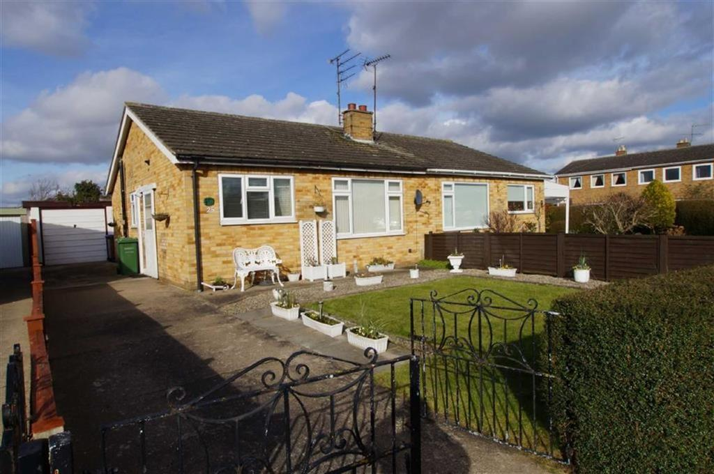 2 Bedrooms Semi Detached Bungalow for rent in Mill Falls, Driffield, East Yorkshire