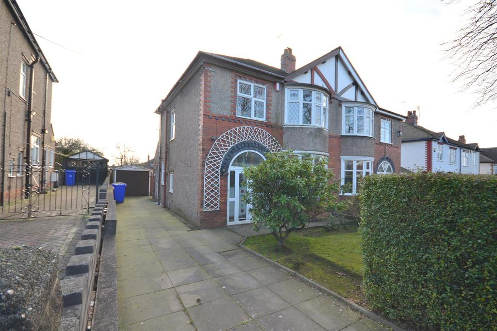 3 Bedrooms Semi Detached House for sale in Allerton Road, Trentham, Stoke-On-Trent