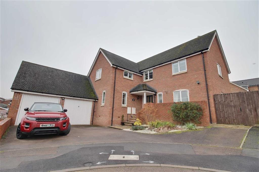 4 Bedrooms Detached House for sale in Graces Pitch, Newent, Gloucestershire