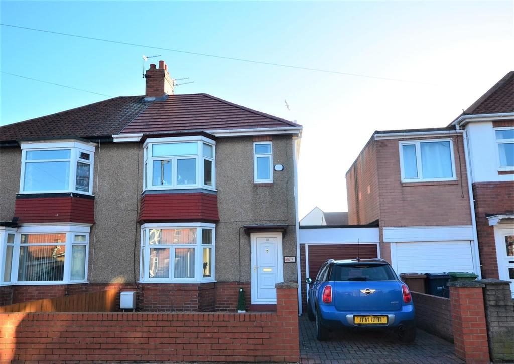 3 Bedrooms Semi Detached House for sale in Wearmouth Drive, Fulwell, Sunderland