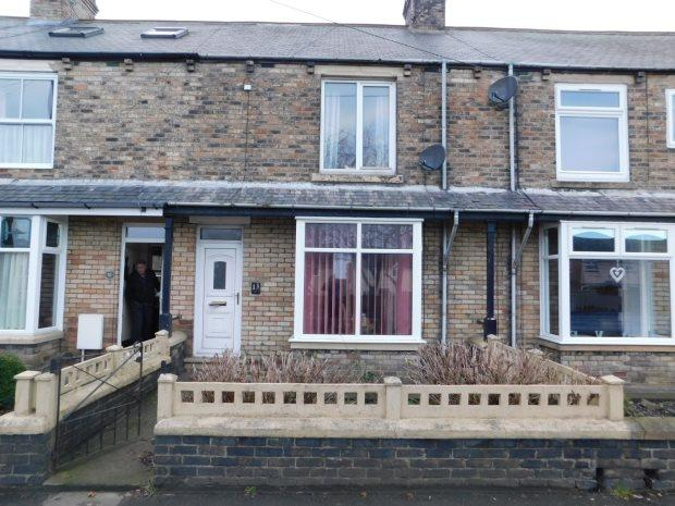 2 Bedrooms Terraced House for sale in HEUGH EDGE, SACRISTON, DURHAM CITY : VILLAGES WEST OF