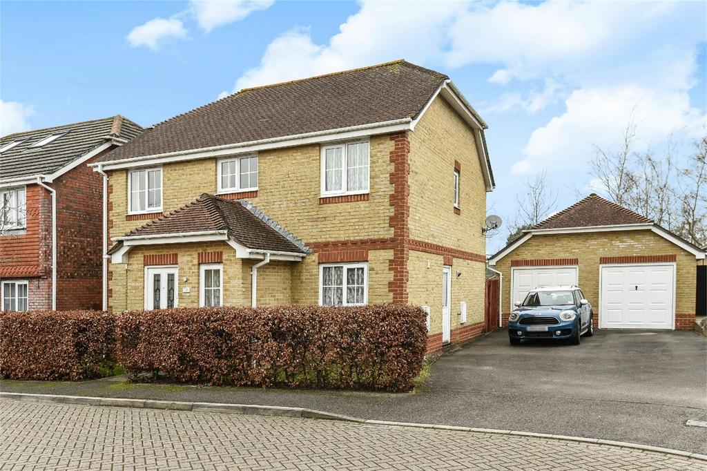 4 Bedrooms Detached House for sale in Rosehip Close, Fair Oak, Hampshire