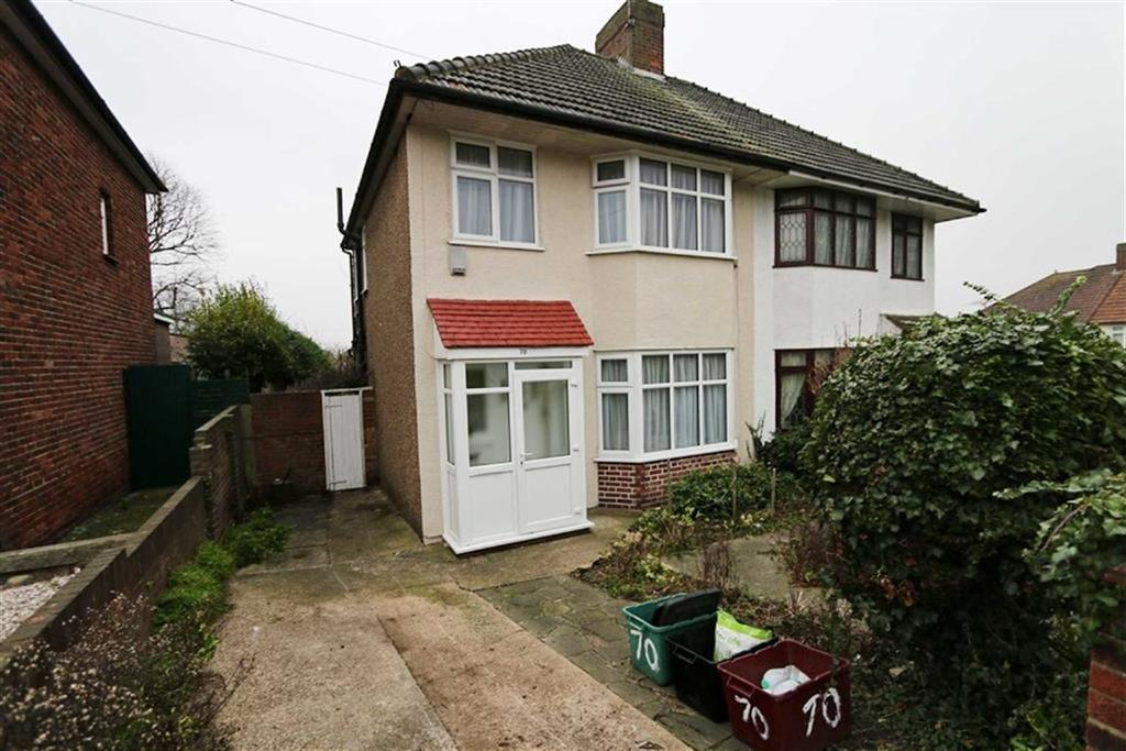 3 Bedrooms Semi Detached House for sale in Highland Road, Bexleyheath, Kent, DA6