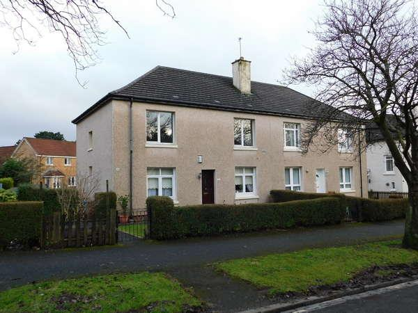2 Bedrooms Flat for sale in 38 Hermitage Avenue, Knightswood, Glasgow, G13 3QP