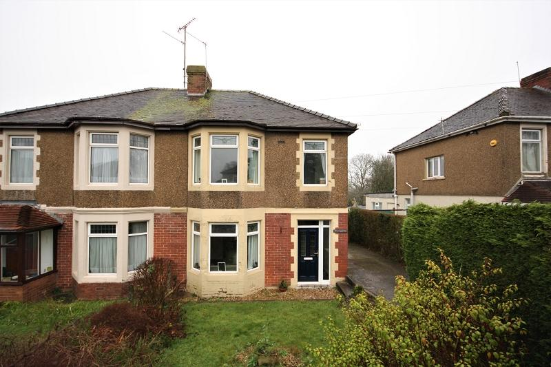 3 Bedrooms Semi Detached House for sale in Glasllwch Crescent, Newport, Newport. NP20 3SE