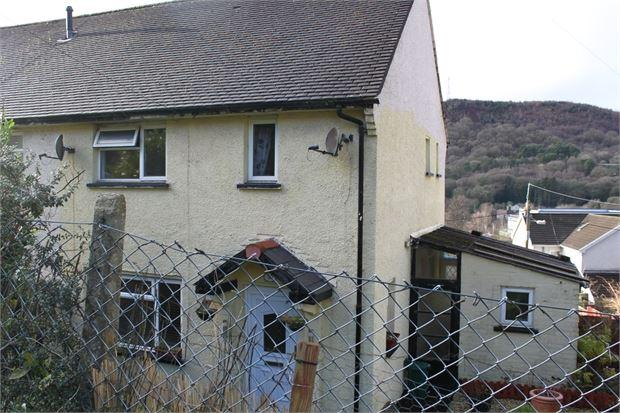 2 Bedrooms Semi Detached House for sale in Mountain View, Llwynypia, Tonypandy, Rhondda Cynon Taff. CF40 2NF