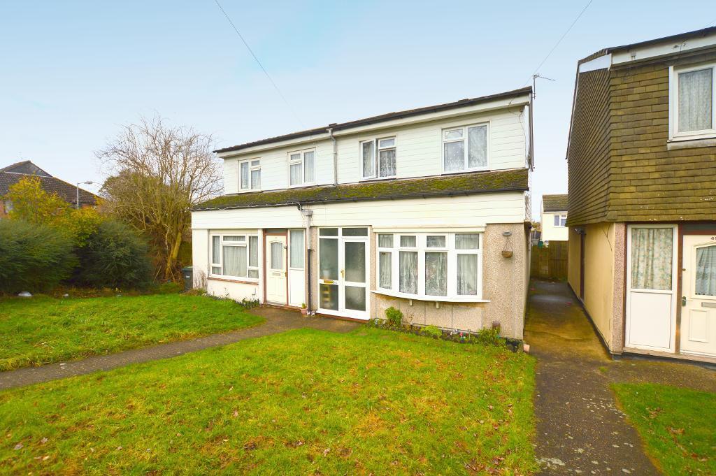 3 Bedrooms Semi Detached House for sale in Hurlock Way, Luton, Bedfordshire, LU4 9NF