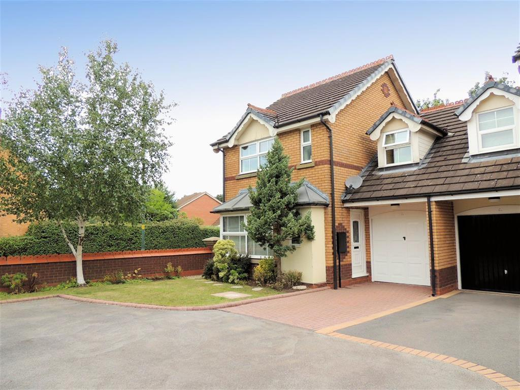 3 Bedrooms Semi Detached House for sale in Kilsby Grove, Solihull, B91 3XZ