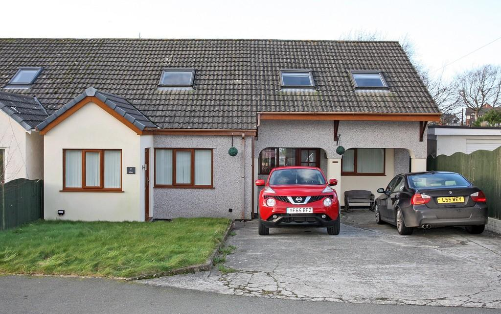4 Bedrooms Semi Detached House for sale in Lon Y Wennol, Llanfairpwll, North Wales
