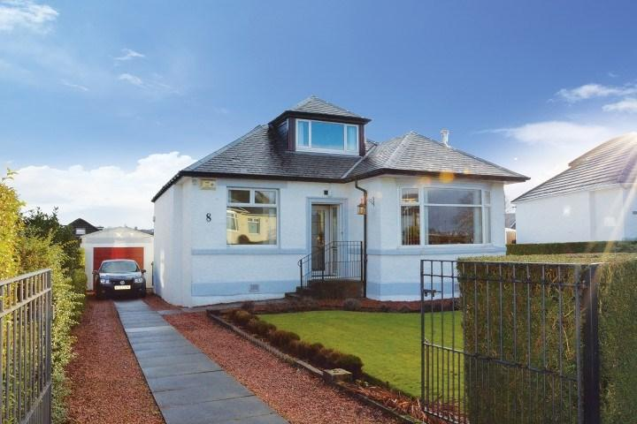 4 Bedrooms Detached Bungalow for sale in The Quadrant, Clarkston, Glasgow, G76
