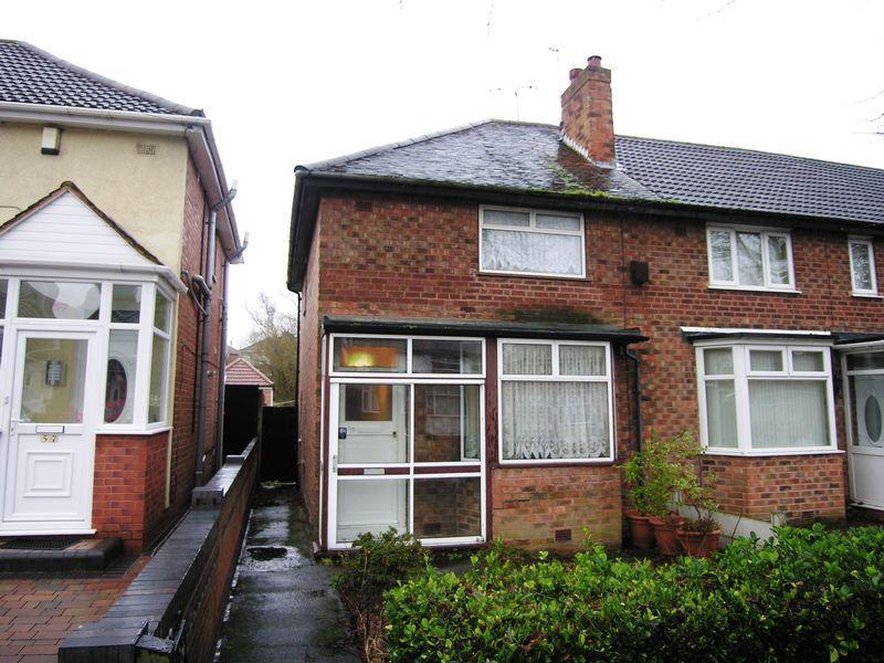 2 Bedrooms Semi Detached House for sale in Birdbrook Road, Birmingham