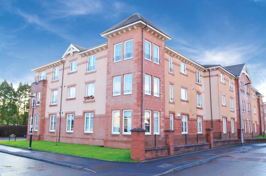 3 Bedrooms Flat for sale in Old Station Court, Bothwell, South Lanarkshire, G71 8PE