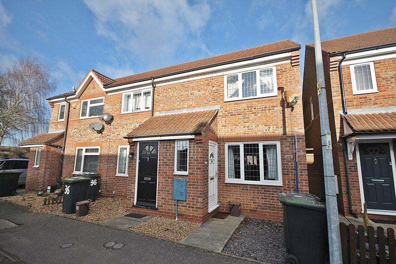 2 Bedrooms End Of Terrace House for sale in The Meadows, Flitwick