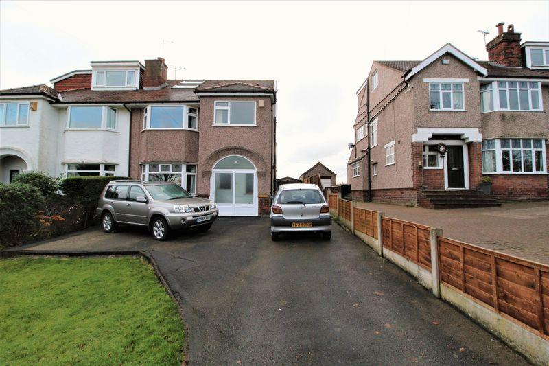 4 Bedrooms Semi Detached House for sale in Thingwall Road, Irby