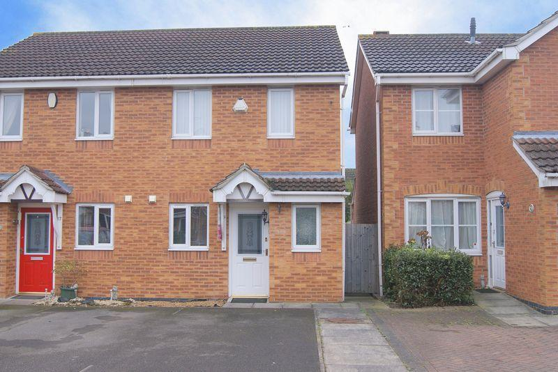 2 Bedrooms Semi Detached House for sale in Broughton Drive, Newark