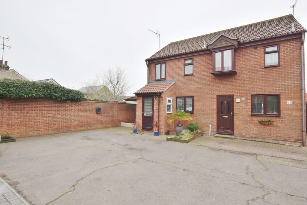 2 Bedrooms Semi Detached House for sale in Chatsworth Road, West Mersea, CO5 8RF