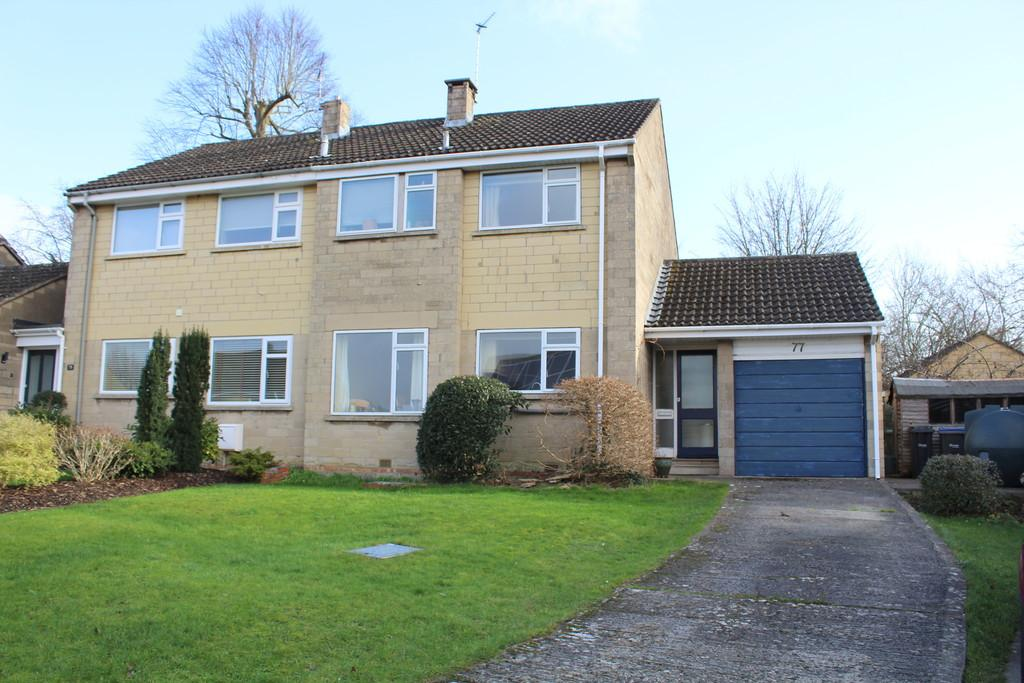 3 Bedrooms Semi Detached House for sale in Springfield, Bradford on Avon