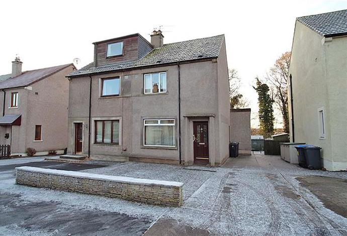 2 Bedrooms Semi Detached House for sale in 57 Abbotseat, Kelso, TD5 7LS