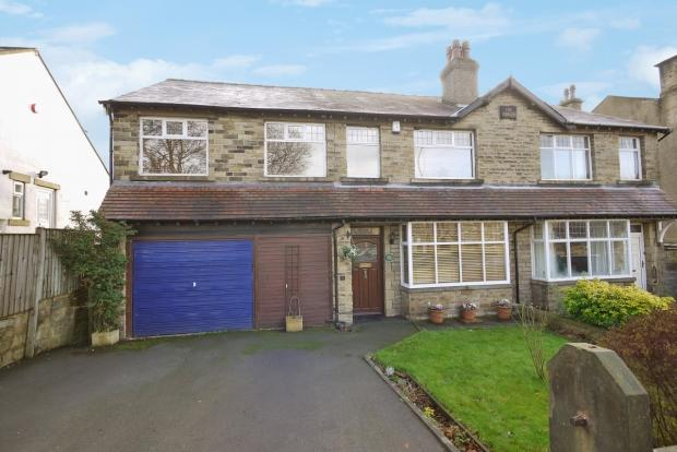4 Bedrooms Semi Detached House for sale in Clifton Common Brighouse