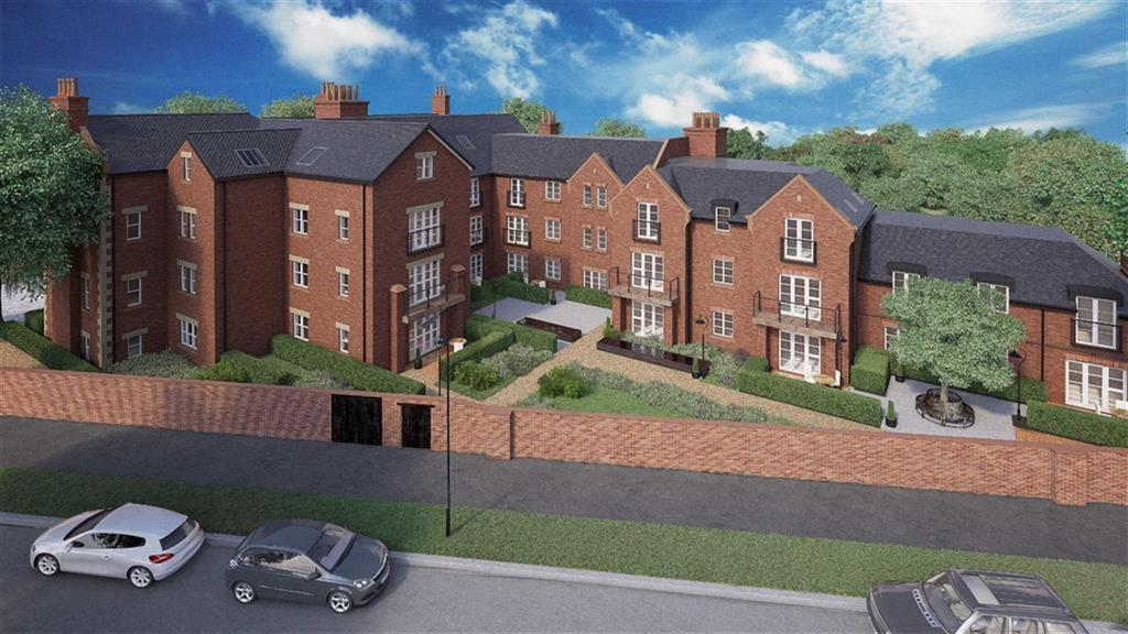 2 Bedrooms Retirement Property for sale in 24 Henley Hall, Kenilworth Place, Leamington Spa, CV32