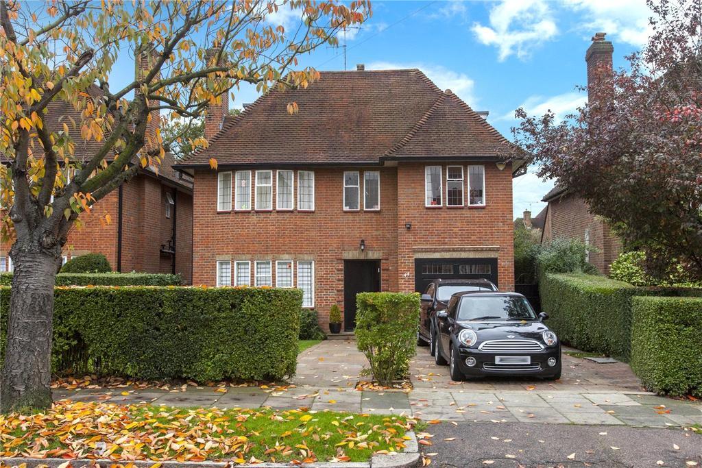 6 Bedrooms Detached House for rent in Kingsley Way, Hampstead Garden Suburb, London, N2
