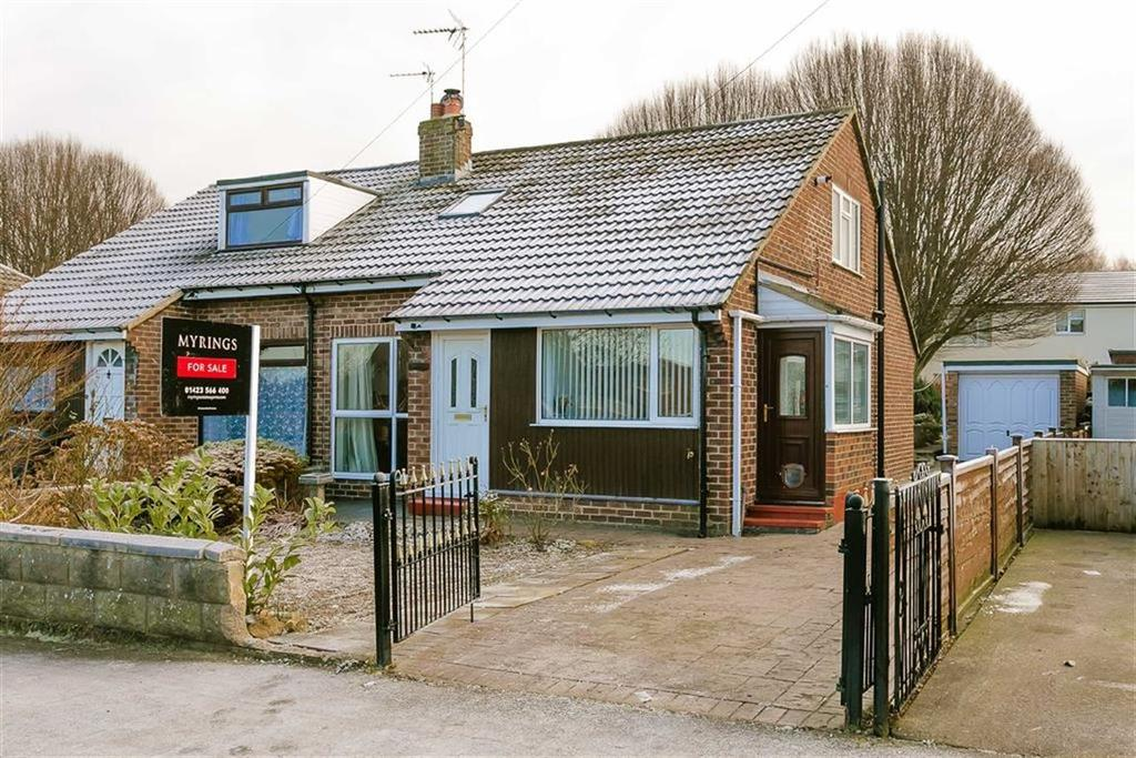 4 Bedrooms Semi Detached Bungalow for sale in Woodfield Road, Harrogate, North Yorkshire