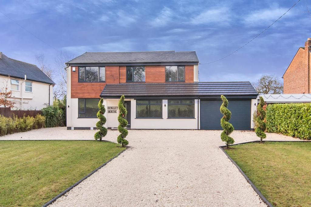 4 Bedrooms Detached House for sale in Henley House, Henley Road, Ullenhall, Henley-In-Arden