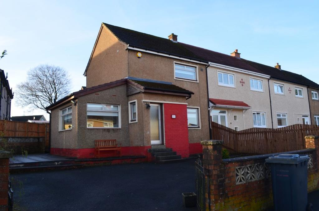 2 Bedrooms End Of Terrace House for sale in Clarkwell Road, Hamilton, South Lanarkshire, ML3 9RQ
