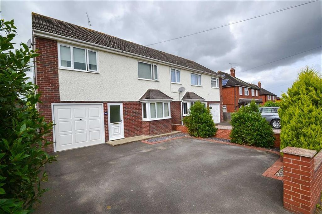 4 Bedrooms Semi Detached House for sale in Overdale Road, Bayston Hill, Shrewsbury