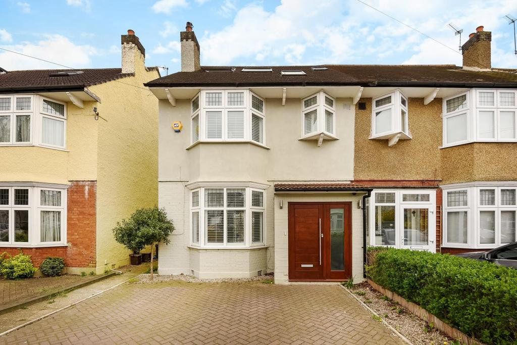 5 Bedrooms Semi Detached House for sale in Camberley Avenue, West Wimbledon