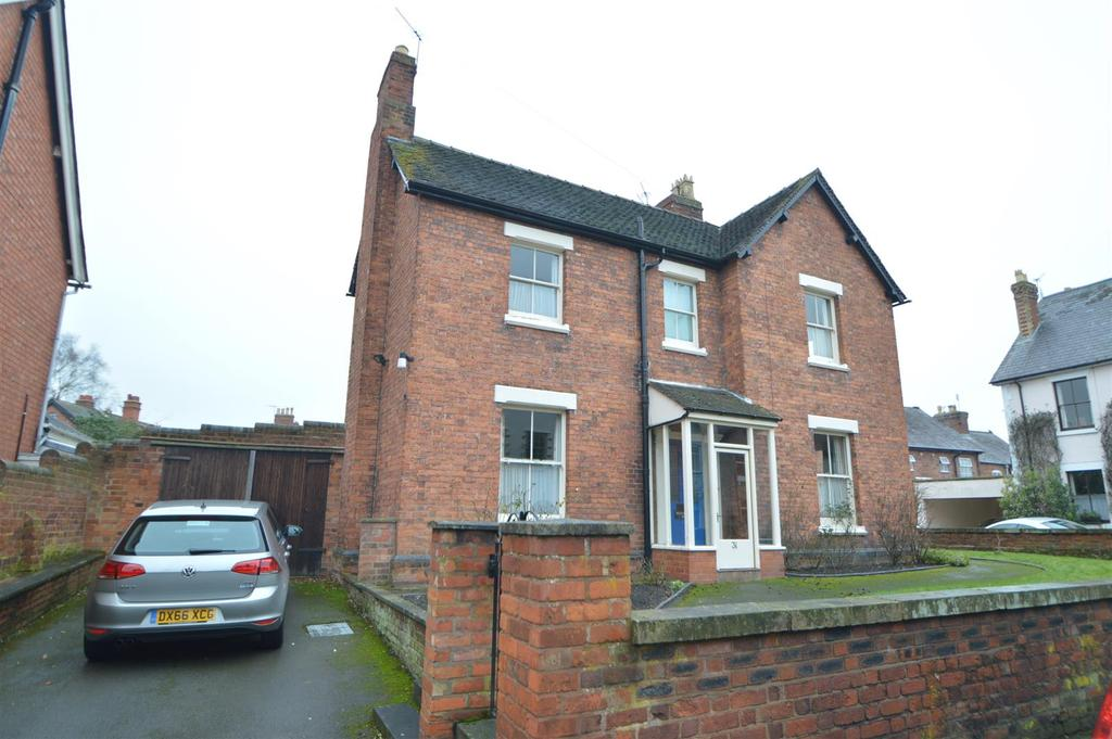 4 Bedrooms Detached House for sale in Belgrave, 31 Mount Street, Shrewsbury, SY3 8QH