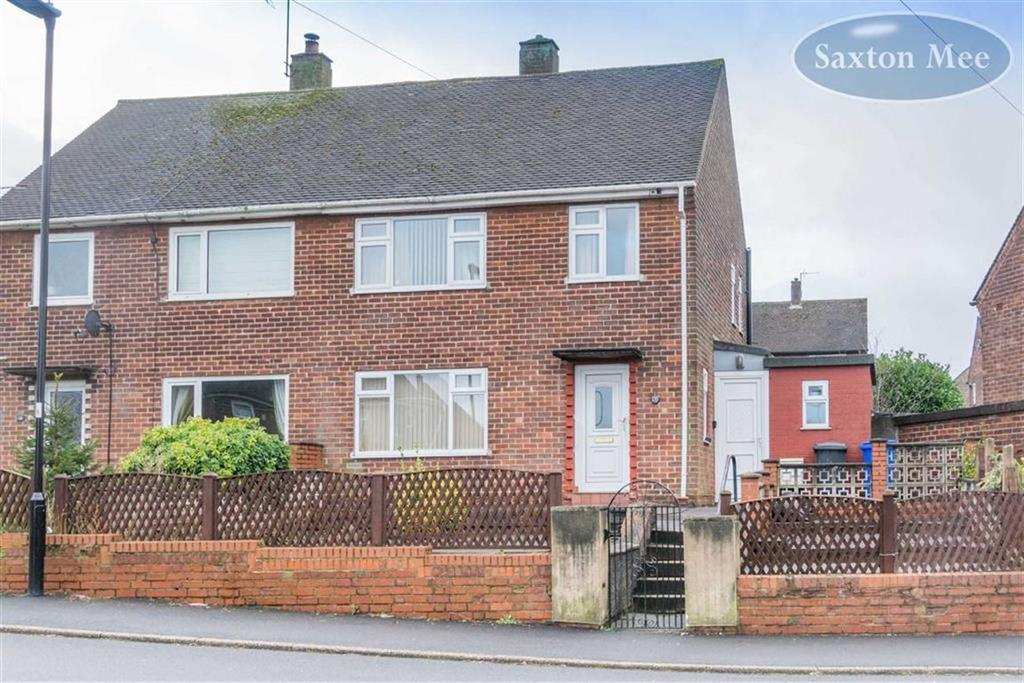 3 Bedrooms Semi Detached House for sale in Jeffery Crescent, Deepcar, Sheffield, S36