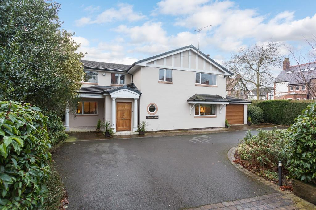 5 Bedrooms Detached House for sale in Warwick Drive, Hale