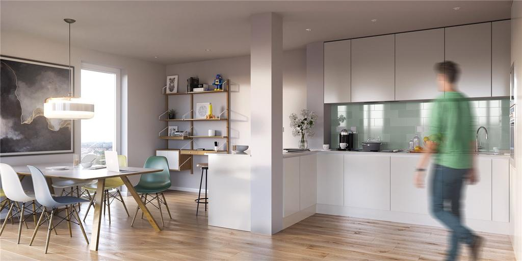 2 Bedrooms Flat for sale in Mapleton Crescent, 11 Mapleton Crescent, Wandsworth, London, SW18