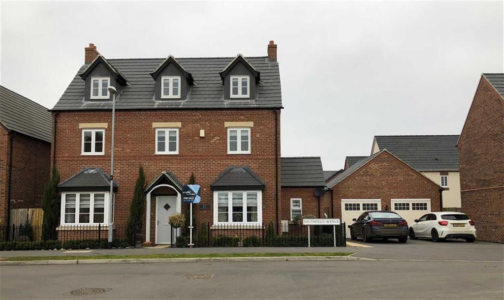 5 Bedrooms Detached House for sale in Southfield Avenue, Sileby